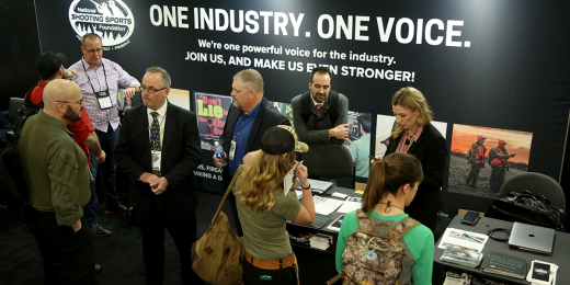 NSSF Booth - SHOT Show 2019