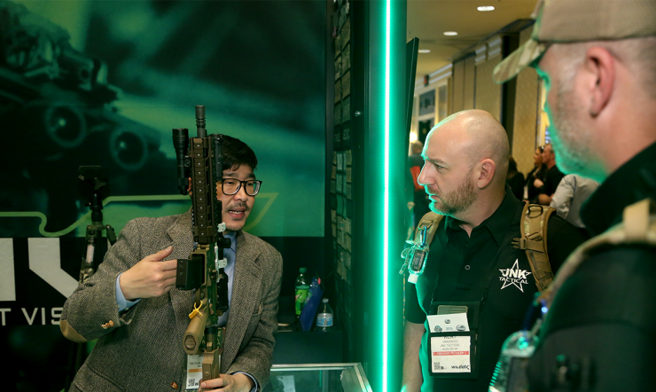 SHOT Show TV Man on the Floor Day 1